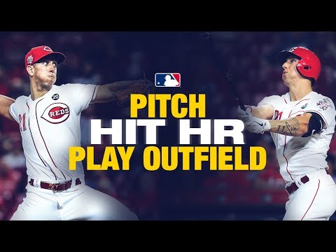 Video: Michael Lorenzen does it all to match Babe Ruth (Hits HR, plays field AND gets win)