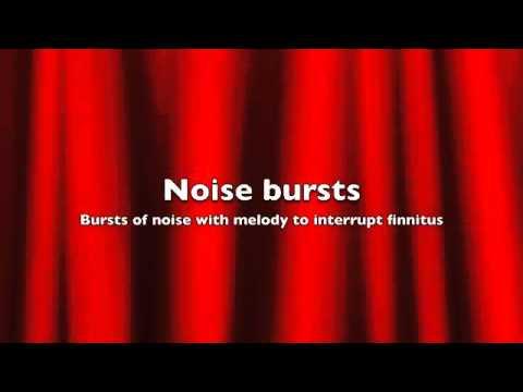 Tinnitus relief – Noise bursts