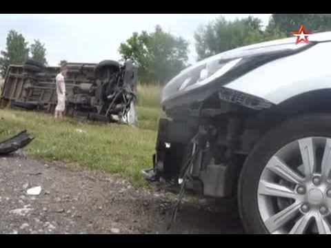 Первое видео с места ДТП в Сочи, где погибли три человека
