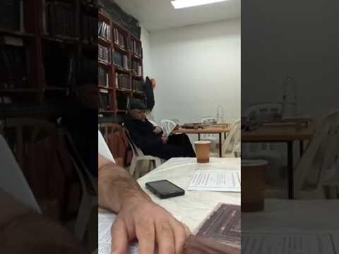 הרב זמרוני ציק ד&#039 ניסן
