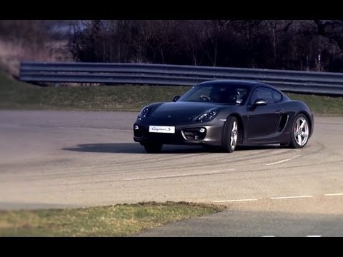 New Porsche Cayman - Advanced Engineering