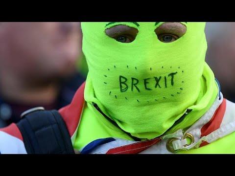 Großbritannien: Nach 3. Ablehnung des Brexit-Abkommens Proteste in London