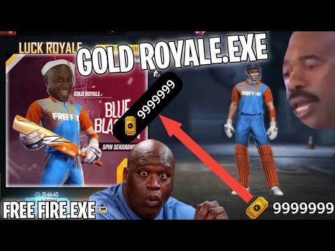 FREE FIRE.EXE - GOLD ROYALE.EXE