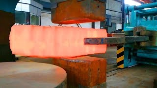 Video HYPNOTIC Video Forging Factory Steel Hydraulic Pneumatic Hammer Mega Machine Steelworks MP3, 3GP, MP4, WEBM, AVI, FLV September 2018
