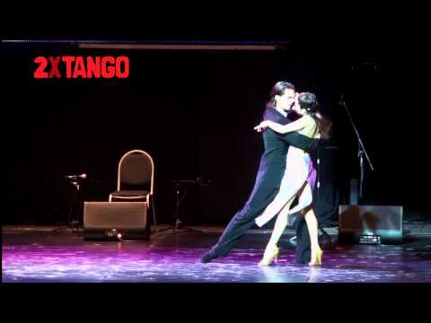 Аргентинское танго. 3er puesto Eber Alejandro Burger & Yesica Lorena Lozano Elias