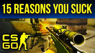 Video 15 Reasons You Suck At Counter-Strike: Global Offensive MP3, 3GP, MP4, WEBM, AVI, FLV Maret 2019