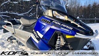 6. Polaris Indy Voyageur 550 2016 155''