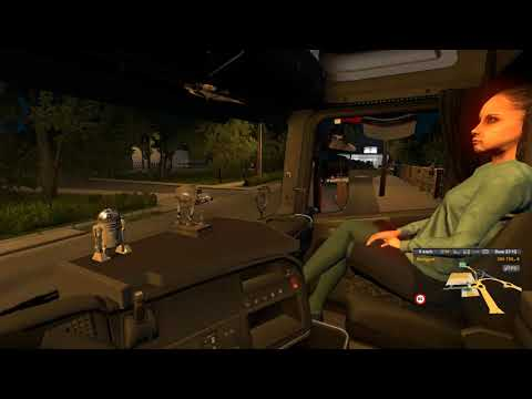 Animated female passenger in truck (with you) V2.0