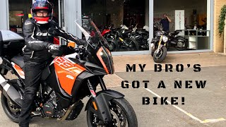 5. 2018 KTM 1290 SUPER ADVENTURE S, Trying out my Bro's new bike and random chat