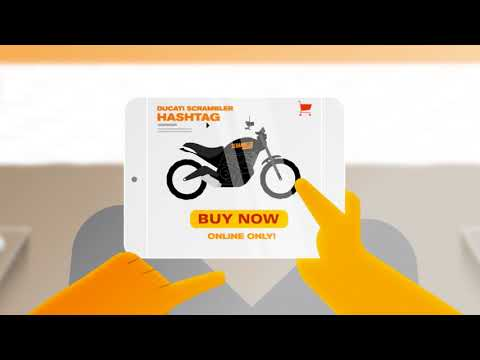 Vídeos de 'Ducati Scrambler Hashtag, primera moto de venta exclusivamente online'