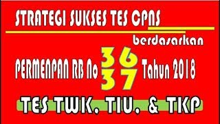 Download Video Strategi Sukses Tes CPNS Tips Tes TWK, TIU, TKP MP3 3GP MP4