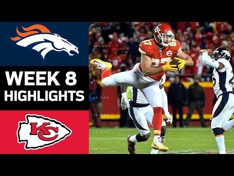 Broncos vs. Chiefs | NFL Week 8 Game Highlights - Thời lượng: 8:10.