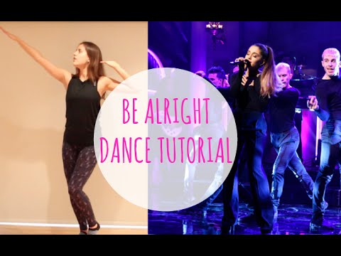 Ariana Grande 'BE ALRIGHT' Dance Tutorial | Andreakswilson