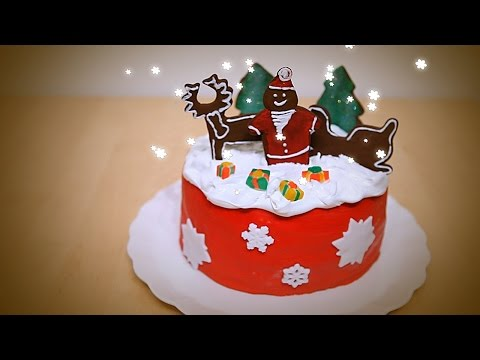 Cake Decoration: How to Decorate Christmas Cake ...