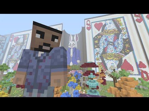 Minecraft (Xbox 360) - Alice In Wonderland - Hunger Games