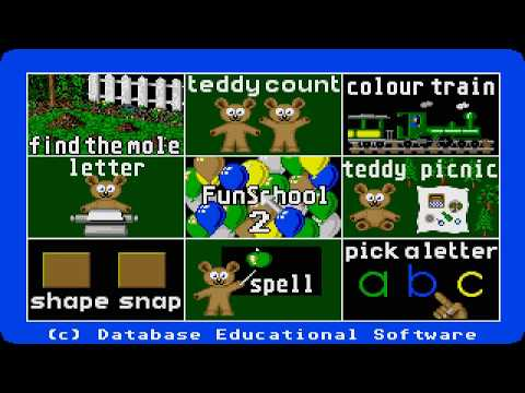 Fun School 3 : For the under 5s Amiga
