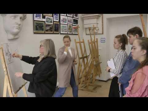 Обросова-Серова Т.В. Методика изобразительного изучения статического формообразования на примере рисунка драпировки для глухих и слабослышащих студентов