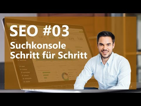 SEO mit Google Search Console (Webmaster Tools) - Deutsch / German