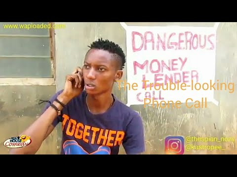 Dangerous phone call(real house of comedy) (flavvynozy_street_) (Nigeria comedy)