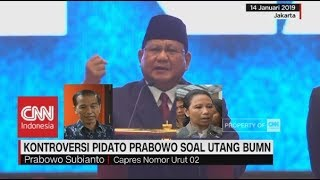 Video Kontroversi Pidato Prabowo Soal Utang BUMN, Ini Kata Jokowi & Rini Soemarno MP3, 3GP, MP4, WEBM, AVI, FLV Januari 2019
