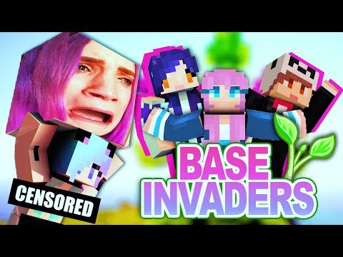 THIS IS A MINECRAFT CHANNEL NOW | Base Invaders