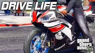 9. GTA 5 Drive Life #8 - 2015 Yamaha YZF R6!