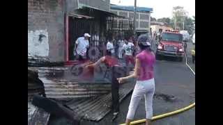 Incendio En Cuscatancingo.