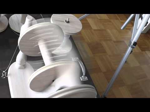 Elektrisches Spinnrad
