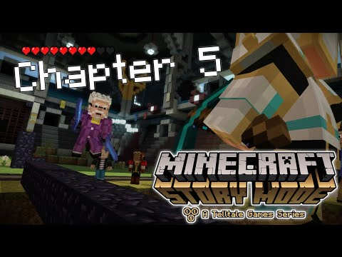 Gaming the System - Minecraft: Story Mode - Episode 8: Chapter 5