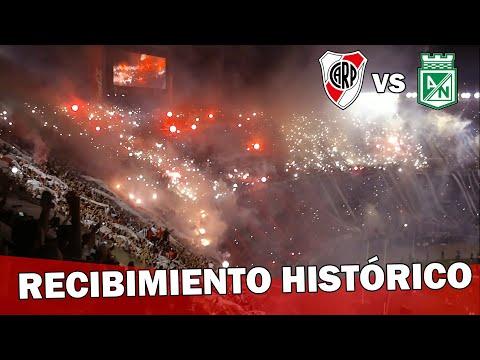 Video - EL MEJOR RECIBIMIENTO DEL SIGLO - River Plate vs Atlético Nacional - Copa Sudamericana 2014 - Los Borrachos del Tablón - River Plate - Argentina