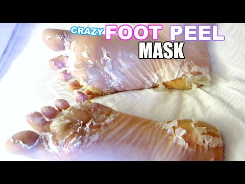 I TESTED A CRAZY FOOT PEEL MASK! (видео)
