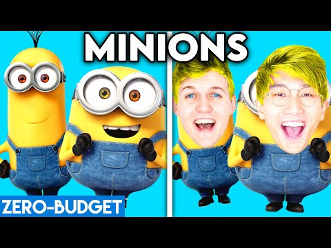 MINIONS WITH ZERO BUDGET! (Despicable Me MOVIE PARODY By LANKYBOX)