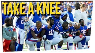 Video NFL Players Protesting National Anthem Sparks Debate ft. Ricky Shucks MP3, 3GP, MP4, WEBM, AVI, FLV November 2017