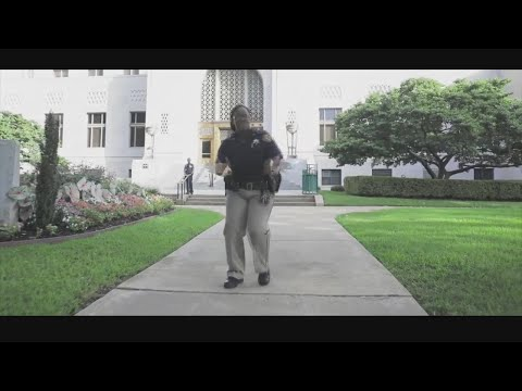 Caddo Deputies take part in the Lip Sync Challenge