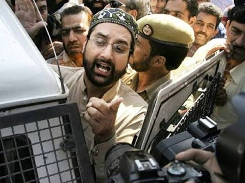 Mirwaiz umar farooq kashmir protests october 2016