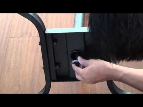 How To Assemble Elitech LCD-42R TV Cart