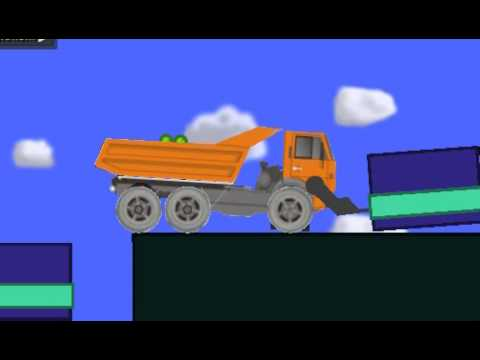 Phun Garbage Truck w/ lift, and dump