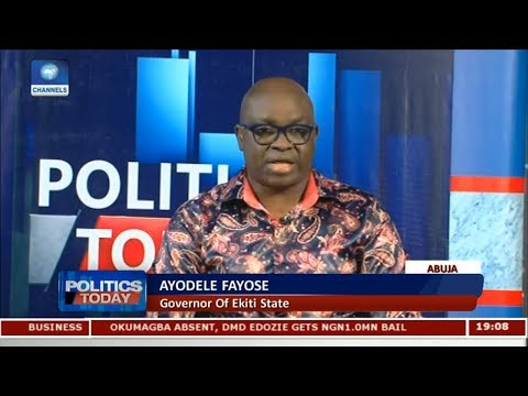 Fayose Declares 2019 Presidential Ambition Pt 2 | Politics Today |