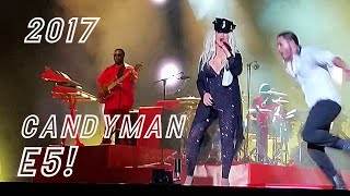 Video Christina Aguilera E5! Candyman 2017 MP3, 3GP, MP4, WEBM, AVI, FLV Juni 2018