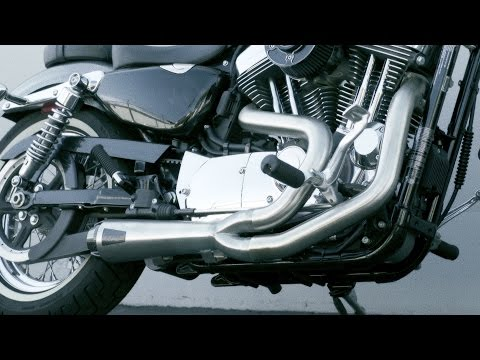Comp-S 2-1 Full System Exhaust for 04-13 Sportster Video