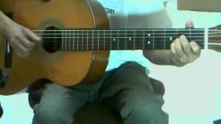 Pada Mu ku bersujud - Afghan guitar cover
