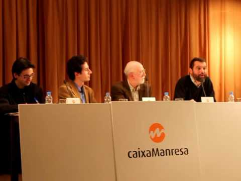 Xavier Melloni presenta l'Opera Omnia Raimon Panikkar a Manresa