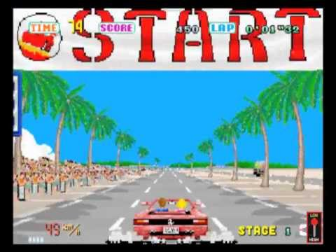 outrun pc engine review