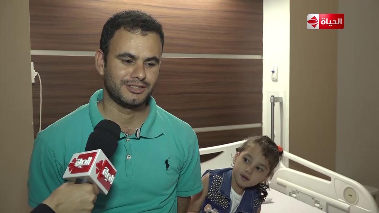 صبايا - لقاء مع والد الطفلة سلمى قبل وبعد إجراء العملية الجراحية بمساعدة ريهام سعيد