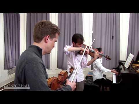 Piano Vibrato: Christian Tetzlaff Workshop Coaching