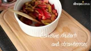 How to Make Strawberry Rhubarb Compote