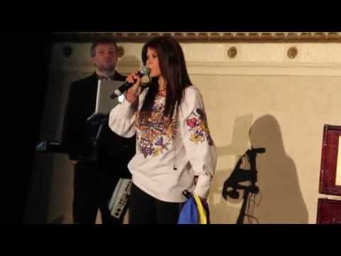 Ruslana during NYC Banquet in support of UCU