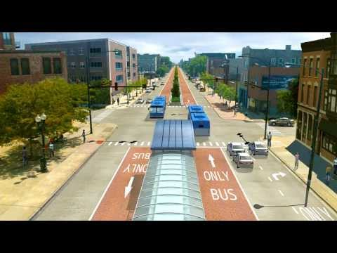 bus rapid transit - We've announced a vision for providing faster, more reliable bus service on Ashland, including dedicated bus lanes and median stations. Learn more at http://...