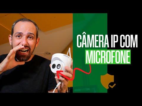 CAMERA IP COM MICROFONE 🎤 | VIP 3250 MIC INTELBRAS
