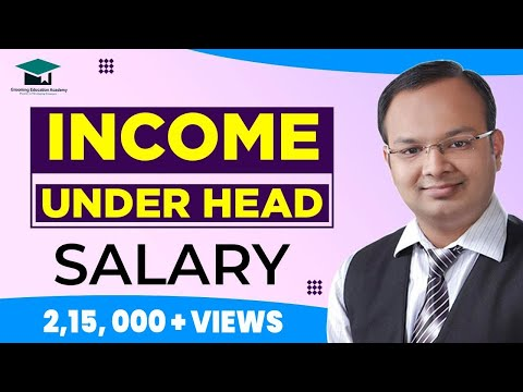 Income Under Head Salary Complete Chapter in Single Video | Salaries | Income Tax Act 1961